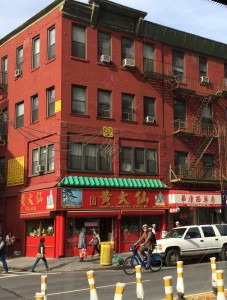 New York City is home to the largest population of overseas Chinese outside of Asia.